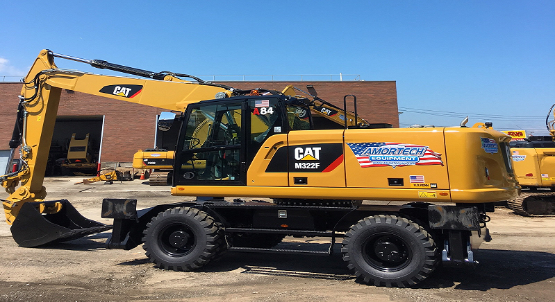 <br>CAT M322F 4WD Tier IV Certified Hydraulic Excavators